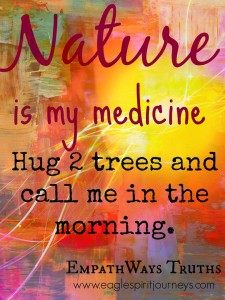 Nature nurtures. Where is your healing place?