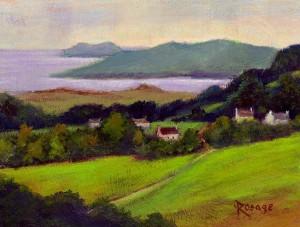 Painting by Bernie Rosage Jr.