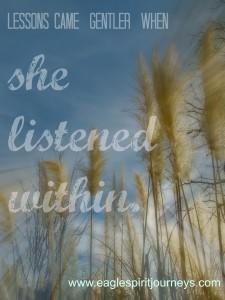 lessons gentler listen within