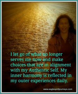 Affirmation - let go